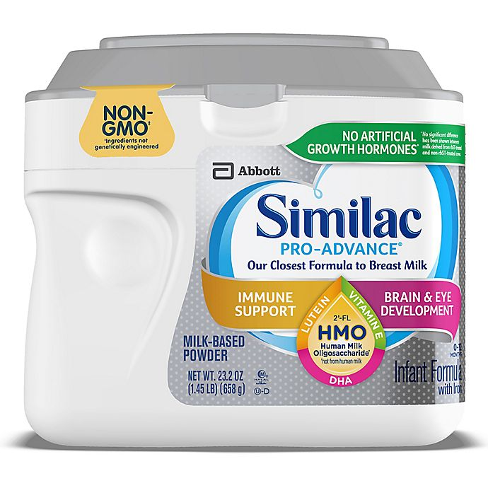 Alternate image 1 for Similac® Pro-Advance™ 2 oz. Non-GMO Baby Powder Formula
