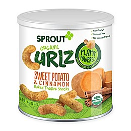 Sprout® 1.48 oz. Sweet Potato and Cinnamon Organic Curlz™ Baked Toddler Snack