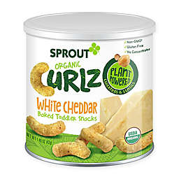 Sprout® 1.48 oz. White Cheddar Organic Curlz™ Baked Toddler Snack