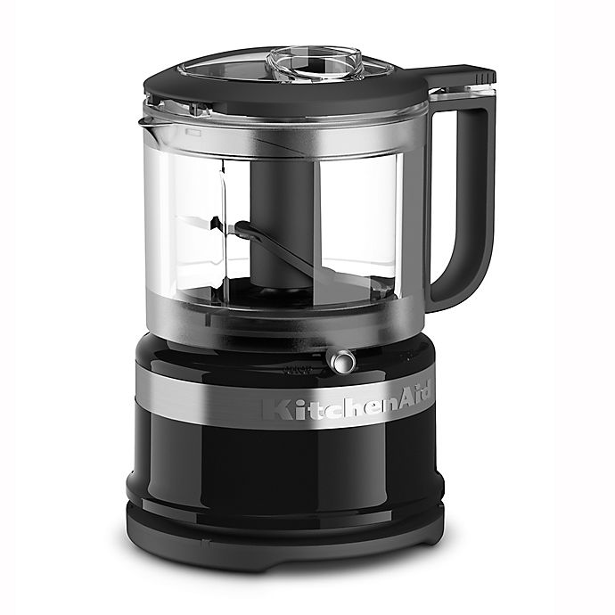 Alternate image 1 for KitchenAid® 3.5-Cup Mini Food Chopper in Onyx Black