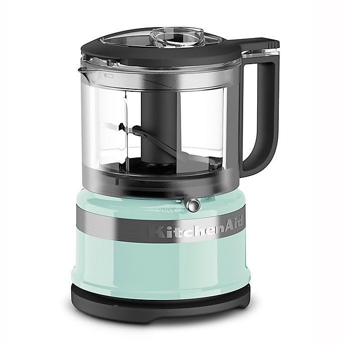Alternate image 1 for KitchenAid® 3.5-Cup Mini Food Chopper in Ice Blue