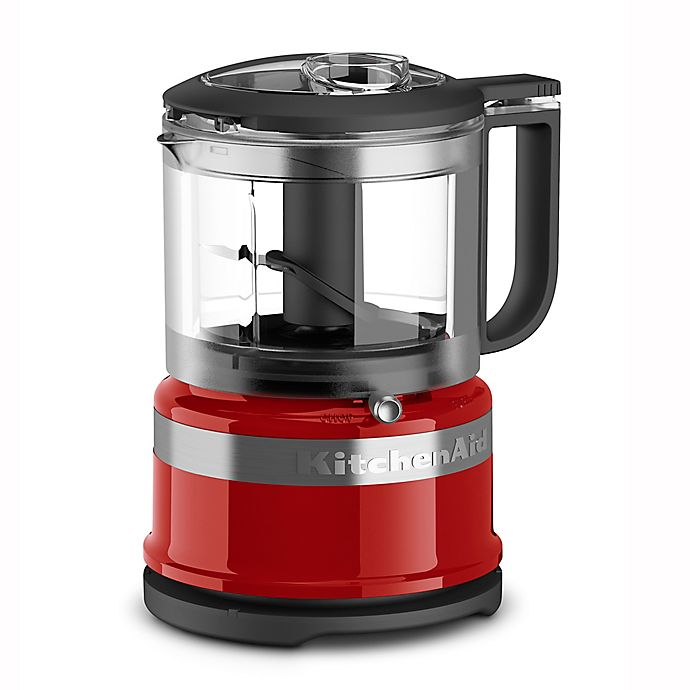 Alternate image 1 for KitchenAid® 3.5-Cup Mini Food Chopper in Empire Red