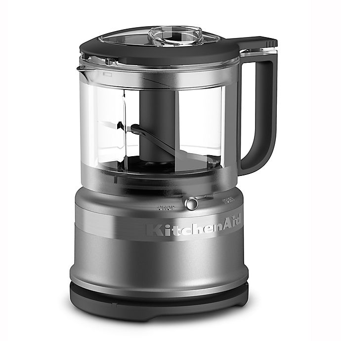 Alternate image 1 for KitchenAid® 3.5-Cup Mini Food Chopper in Contour Silver