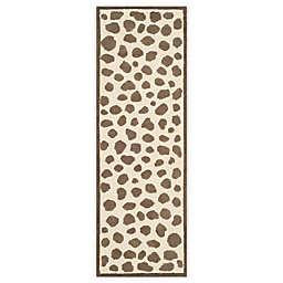 Safavieh Kids® Pebbles 2-Foot 3-Inch x 7-Foot Runner in Ivory/Grey