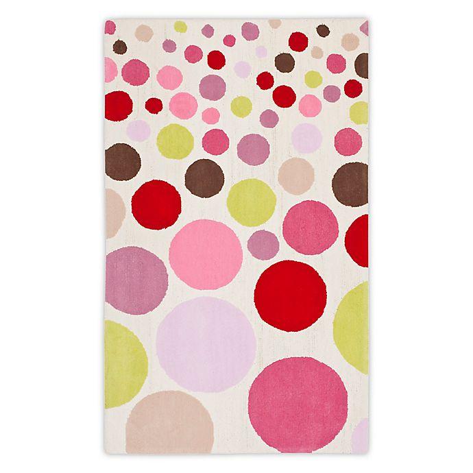 Alternate image 1 for Safavieh Kids® Polka Dot Multicolor Rug