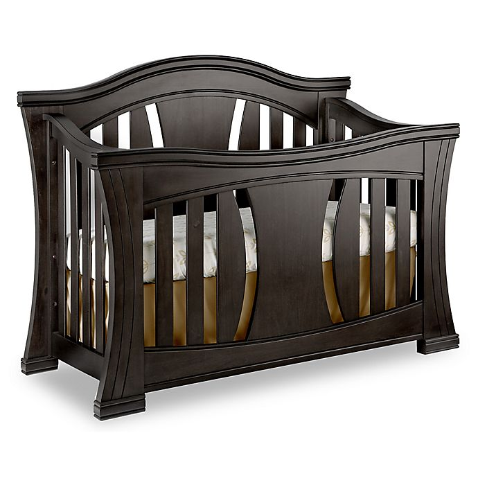 Alternate image 1 for Baby Appleseed® Palisade 4-in-1 Convertible Crib in Slate