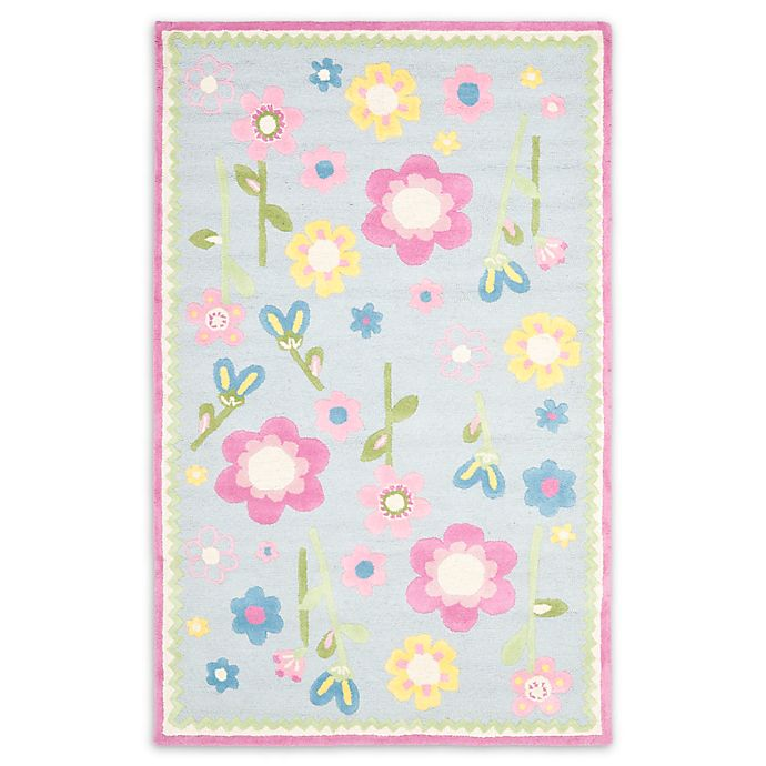 Alternate image 1 for Safavieh Kids® Flowers Print Rugs