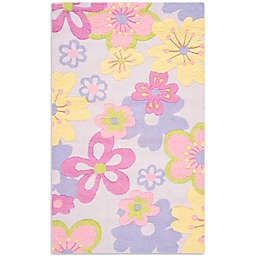 Safavieh Kids® Pastel Flowers Multicolor Rug