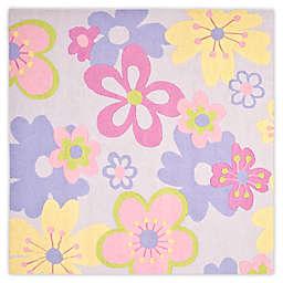 Safavieh Kids® Pastel Flowers 7-Foot Square Multicolor Area Rug