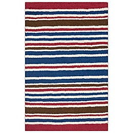 Safavieh Kids® Stripe Print Rugs in Ivory