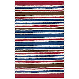 Safavieh Kids® Stripe Print Rugs in Ivory