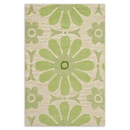 Safavieh Kids® Daisies Area Rug in Beige/Green