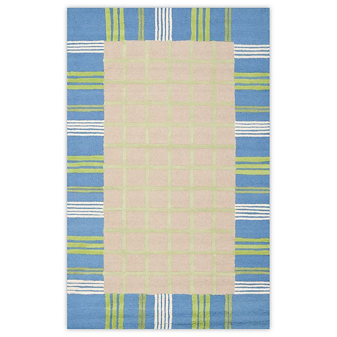 Alternate image 1 for Safavieh Kids 8-Foot x 10-Foot Rug in Taupe/Blue