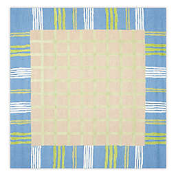 Safavieh Kids 7-Foot Square Rug in Taupe/Blue