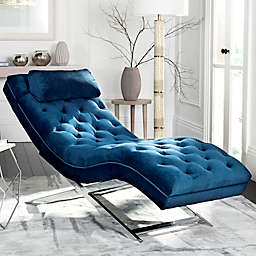 Safavieh Monroe Chaise Lounge with Headrest Pillow