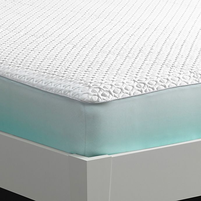 Bedgear Ver Tex Cooling Performance Mattress Protector In White