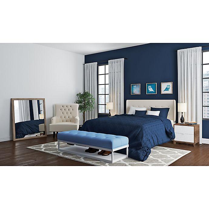 Navy and Cream Bedroom | Bed Bath & Beyond