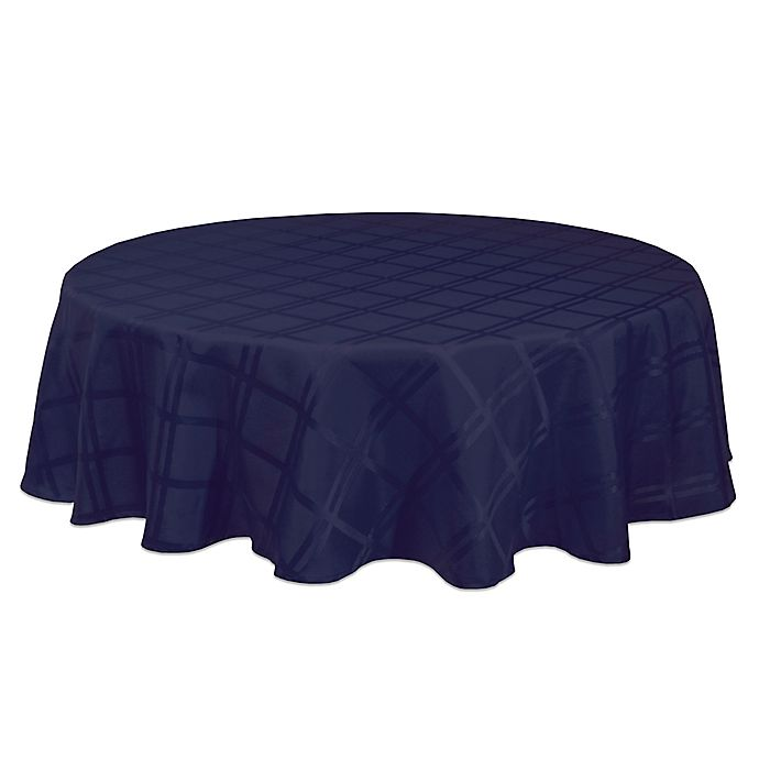 Alternate image 1 for Origins™ Microfiber Round Tablecloth