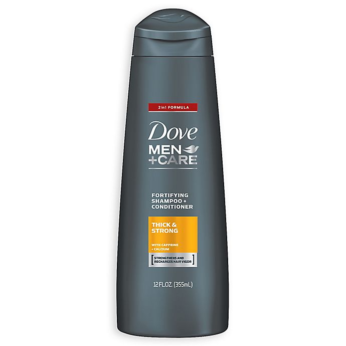 Alternate image 1 for Dove 12 oz. Men + Care Fortifying Thickening Shampoo