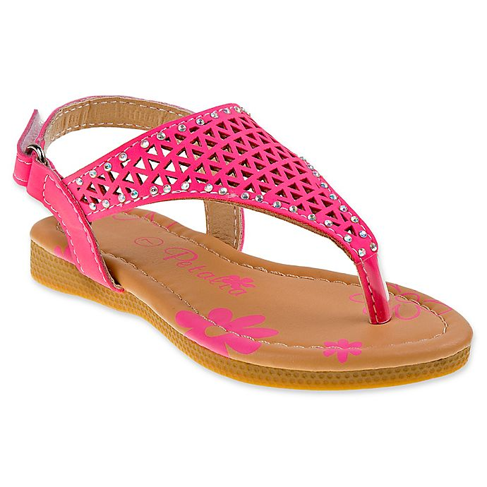 6ae43662b6ca Petalia Cut Out Thong Sandal in Fuchsia
