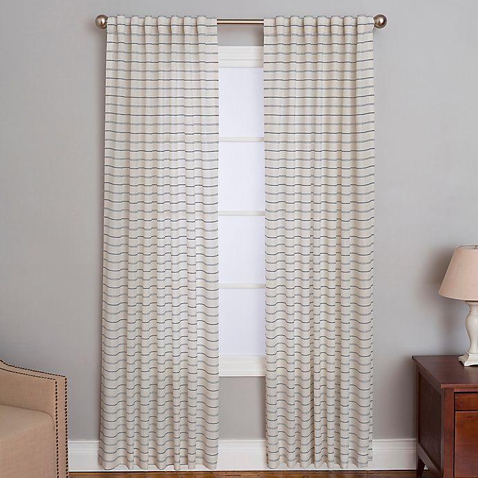 Alternate image 1 for Cameron Rod Pocket/Back Tab Window Curtain Panel