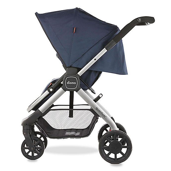 Alternate image 1 for Diono® Quantum 6-in-1 Multi-Mode Stroller with Smart Seat in Blue Mist