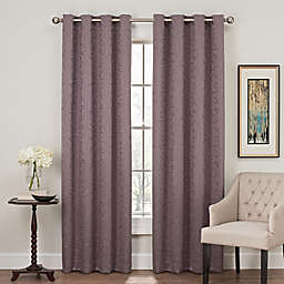 Profile 84-Inch Grommet Top Window Curtain Panel in Amethyst