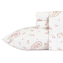Laura Ashley® Bristol Sheet Set in Medium Pink