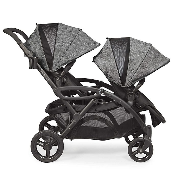 Alternate image 1 for Contours® Options® Elite Tandem Stroller in Graphite