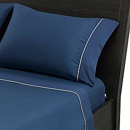 bedgear® Hyper-Cotton™ Perfrmnc SS Twin XLong Navy