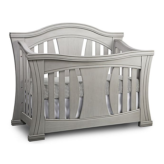 Alternate image 1 for Baby Appleseed® Palisade 4-in-1 Convertible Crib in Morning Mist