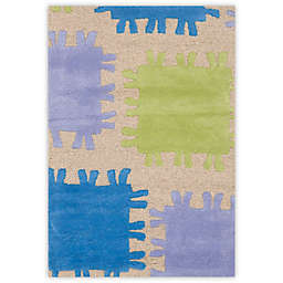 Safavieh Kids® Jigsaw Rug in Beige/Multi