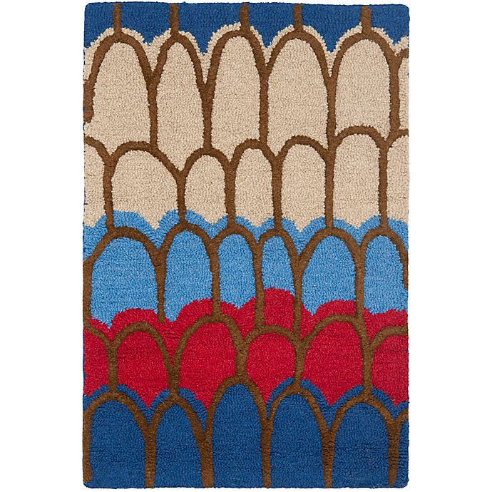 Alternate image 1 for Safavieh Kids® Patches Rug in Blue/Multi