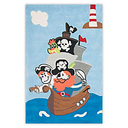 Safavieh Kids Pirates Rug in Blue/Multi