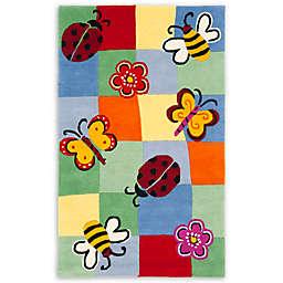 Safavieh Kids Garden Critters Multicolor Rug