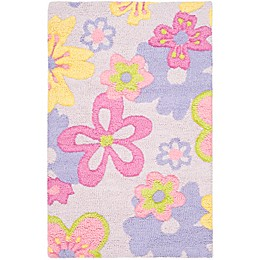 Safavieh Kids® Pastel Flowers Multicolor Rug