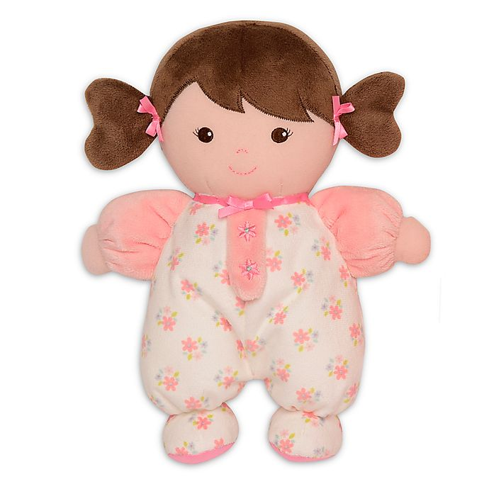 Alternate image 1 for Baby Starters® Brunette Olivia Snuggle Doll