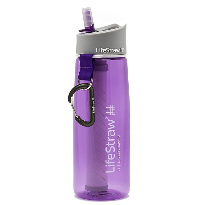 Alternate image 1 for LifeStraw Go Filter Bottle with 2-Stage Filtration