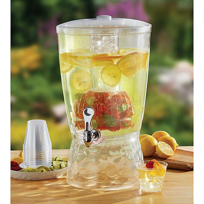 Creativeware 3 Gallon Beverage Dispenser With Infuser