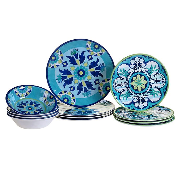 Alternate image 1 for Certified International Grenada 12-Piece Dinnerware Set