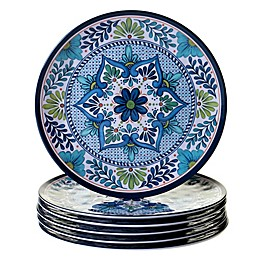 Certified International Talavera Dinner Plates (Set of 6)
