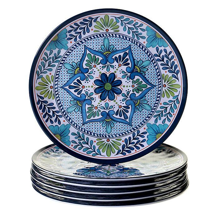 Alternate image 1 for Certified International Talavera Dinner Plates (Set of 6)