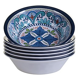 Certified International Talavera All Purpose Bowls (Set of 6)