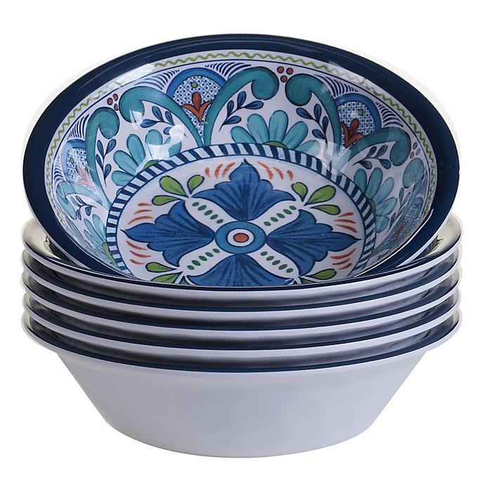 Alternate image 1 for Certified International Talavera All Purpose Bowls (Set of 6)