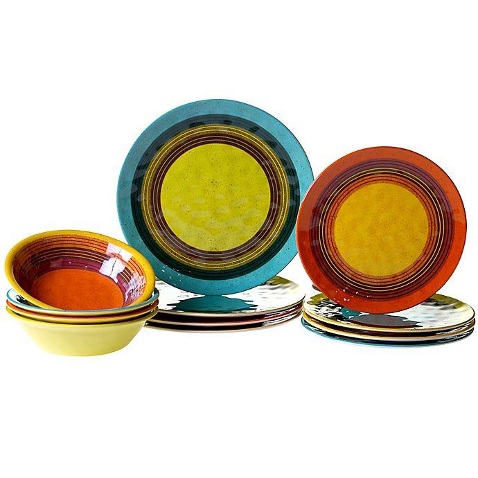 Alternate image 1 for Certified International Sedona 12-Piece Dinnerware Set