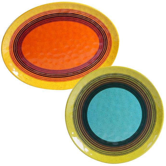 Alternate image 1 for Certified International Sedona 2-Piece Serving Platter Set