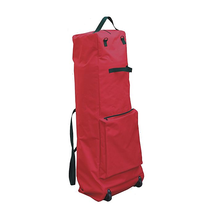 Alternate image 1 for Camerons 56-Inch XL Heavy Duty Roller Christmas Tree Storage Bag in Red