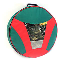 Camerons 24-Inch Artificial Christmas Wreath Storage Bag in Red