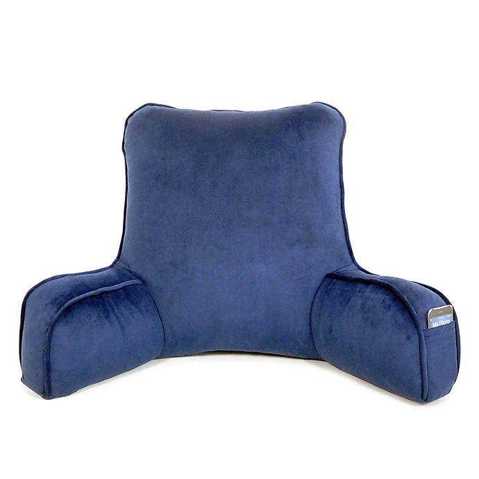 Alternate image 1 for Therapedic® Oversized Backrest Pillow in Navy