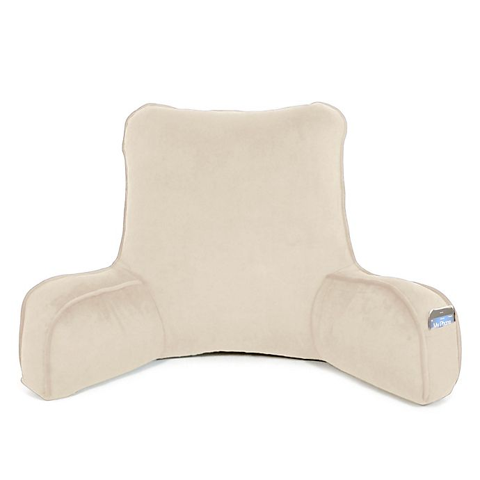Alternate image 1 for Therapedic® Oversized Backrest Pillow in Taupe